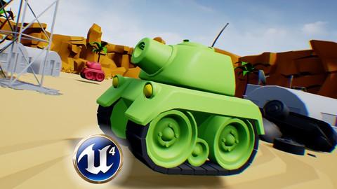 Unreal Engine Tanks