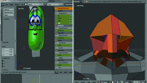 Blender Modelling and Animation Project workshop masterclass