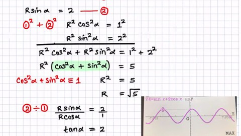 A Level - Pure Mathematics, Statistics & Mechanics AS & A2