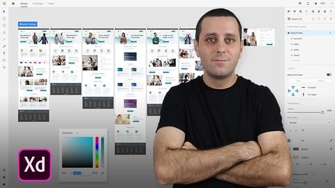 Adobe Xd Masterclass - UI / UX Design From Scratch