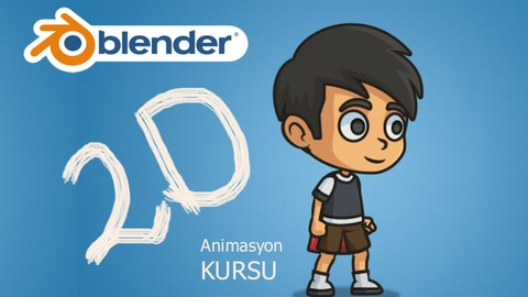 Blender 2d Animasyon (Grease Pencil Draw + Rigging)