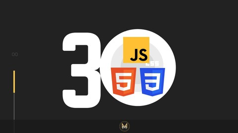 30 HTML, CSS & JavaScript projects in 30 Days for Beginners