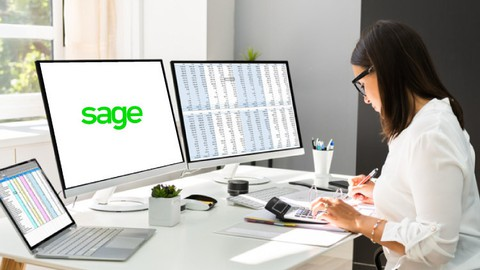 Sage 50 Online Course: Sage 50 Accounts with Free Coursebook