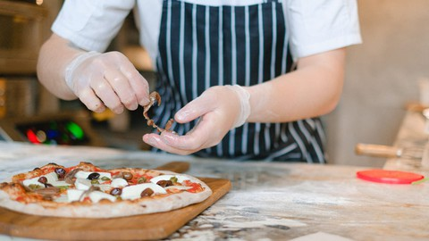 Baking Course : Bake Pizza/pizza Rolls/Buns fritters & More