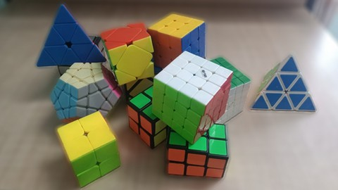 Master How To Solve Eight Different Rubik's Cubes