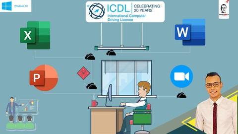 ICDL Course | MS OFFICE Essential training | 4 Course Bundle