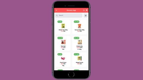 Flutter - Grocery App - WordPress - WooCommerce Series