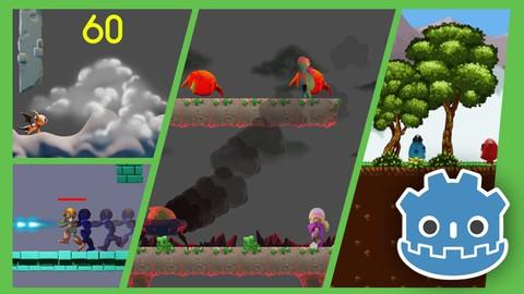 Criação de games de plataforma 2D com a Godot Engine.