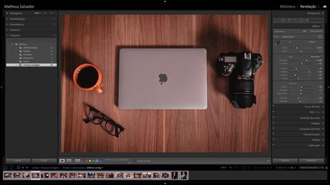 Adobe Lightroom - Edição e Fluxo de Trabalho para Fotógrafos