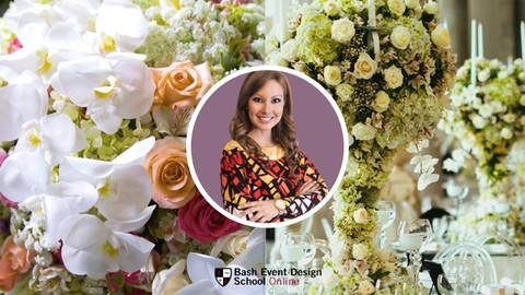 Curso Diseño y Decoración Floral para Bodas Wedding Planners