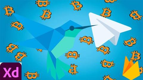 Flutter & Dart :build Teleg bitcoin price bot with firebase
