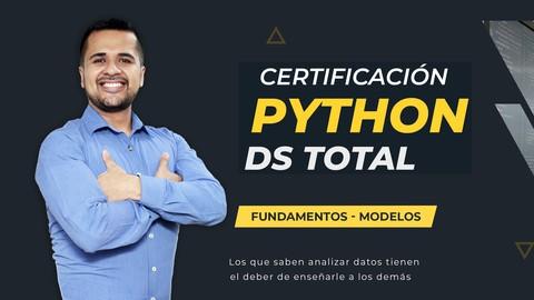 Certificación Python DS Total : Fundamentos - Modelos