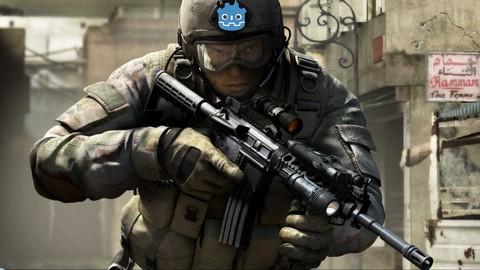 Crie um jogo FPS (Atirador) na GODOT