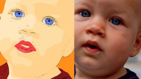 Photoshop: Turning Photograph Into Cartoon