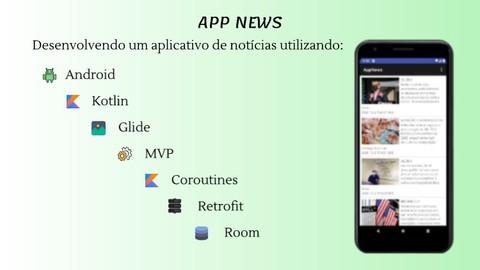 App News - Android + Kotlin + Retrofit + Coroutines + Room
