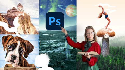Photoshop In-Depth Compositing and Design 2021