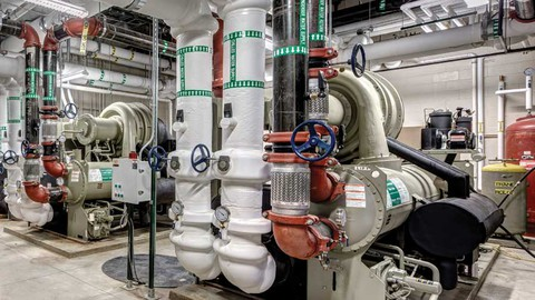 HVAC Concepts :Pychrometry ,Load Calculations,Chiller Design