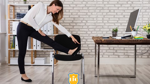 Easy Chair Yoga Practice for Beginners,Seniors & Busy People