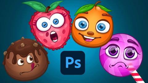 Cartoon Illustration in Photoshop- How to Draw Cute Cartoons