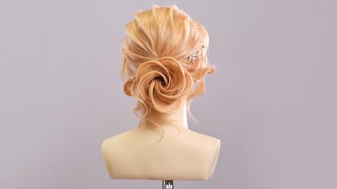 Elegancka fryzura wieczorowa - Rozwój techniki fryzjerskiej