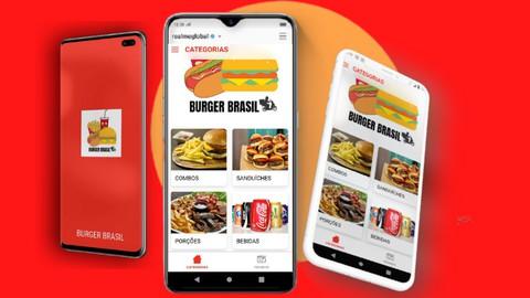Aplicativo para Delivery - Crie você mesmo - Android/IOS