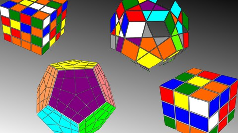 Rubik's cube and Megaminx for beginners