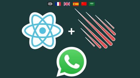 React Clone WhatsApp (w/ React Router, React Hooks) 2021