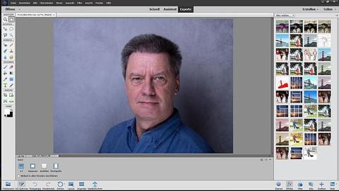 Photoshop Elements (II) - Beauty Retusche