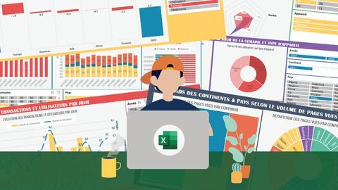 Excel & Data Visualisation, créez des rapports percutants