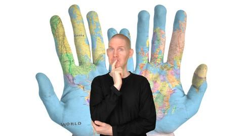 ASL Level 1 | Countries + Sentences | American Sign Language