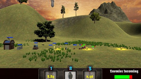NerdLevels Unity Project 4: Build an Artillery Game!