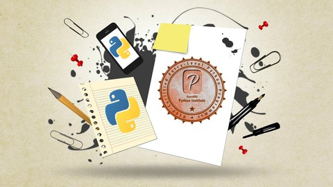 PCEP – Certified Python Programmer Complete Course & Exam