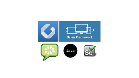 Galen UI LAYOUT automation testing with Cucumber & Java