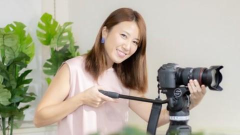 はじめての一眼動画でもいきなりオシャレに!Leika流動画講座で身近なものや人物を撮る☆プロが教えるデジイチ動画講座