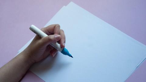 Lettering para niveles intermedios.