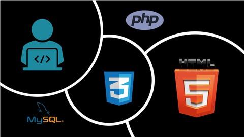 Web App from scratch - HTML5, CSS3, PHP & MySQL