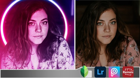 Photo editing in mobile (by Snapseed - Picsart - Lightroom)