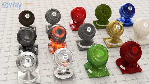 Learn Vray Realistic Materials in 3ds Max