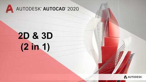 Formation Complète en Autocad 2D et 3D (2 in 1)