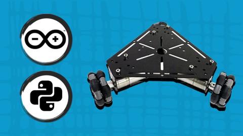 Robótica con Python y Arduino Robot Omnidireccional 3 Ruedas