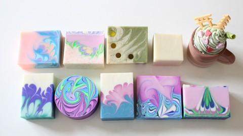 デザイン石けん上級講座 4 Design Soap Advance Course Part4