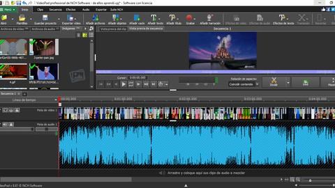 Aprender a usar Video Pad, editor de videos
