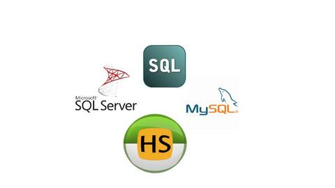 Apprenez le langage SQL PL/SQL avec MySQL/SQLServeur/Oracle
