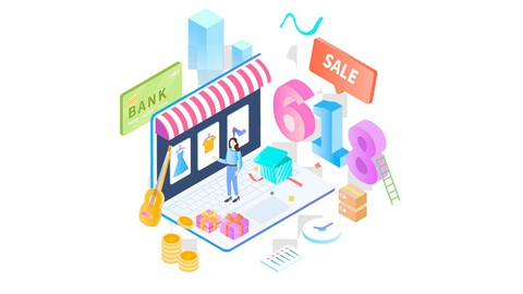 Ecommerce - Dropshipping Product Online FREE NO MONTHLY COST