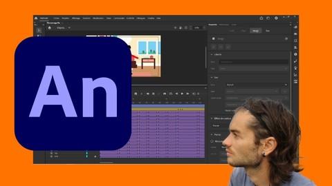 Adobe Animate le cours complet pour créer des animations