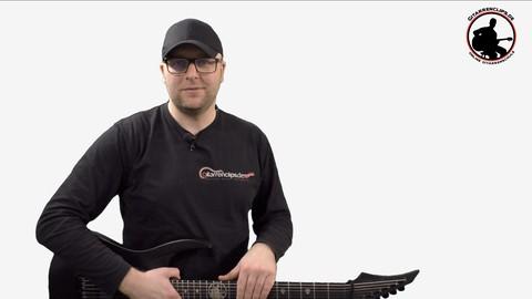 E-Gitarre lernen - Metalriff Collection - Vol.1 - Teil 3/3