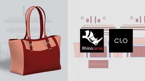 Pembuatan Pola Tote Bag hingga 3D dengan Rhinoceros dan Clo