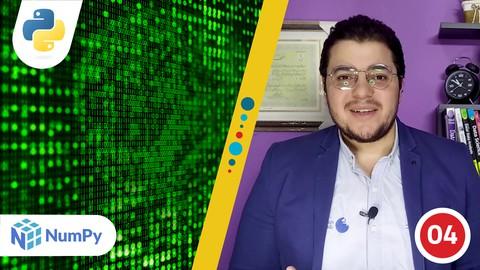 البيانات العددية في بايثون | NumPy for Python Numerical Data