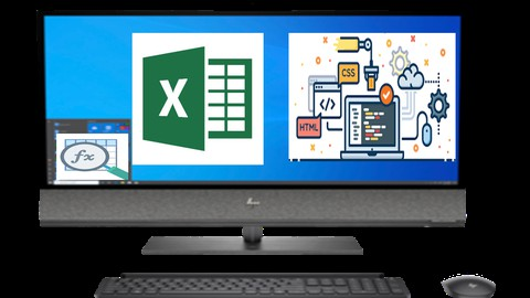 Excel VBA | 100+ Excel Formulas | Tips &Trick| HTML, CSS, JS