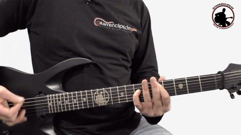 E-Gitarre lernen - Rock- & Popbasiskurs - Master - Teil 2/3